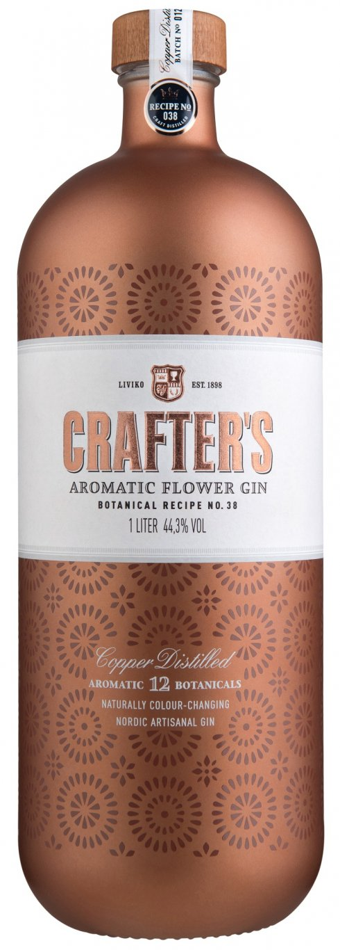 CRAFTER`S AROMATIC FLOWER GIN
