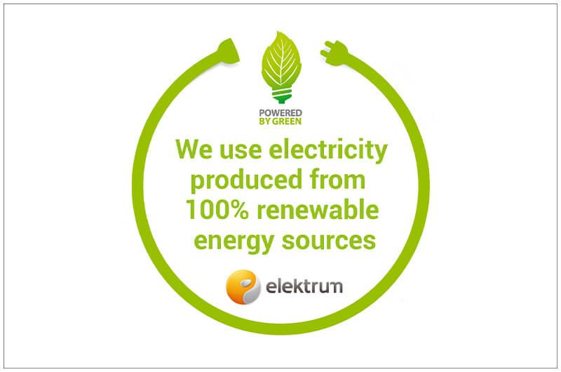ENVIRONMENTALLY FRIENDLY ELECTRICITY